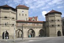 Bild: Das Isartor - eines der 3 Tore zur Innenstadt