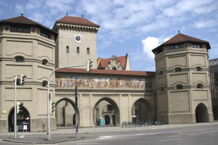 Das Isartor - eines der 3 Tore zur Innenstadt