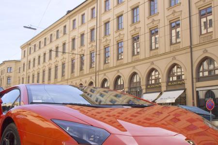 Schön und nicht selten auf der Maximilianstraße