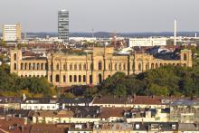 Bild: Das Maximilianeum - der bayerische Landtag