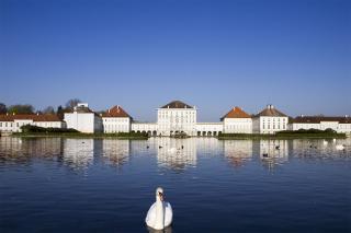 Bild: Das Schloss Nymphenburg von außen