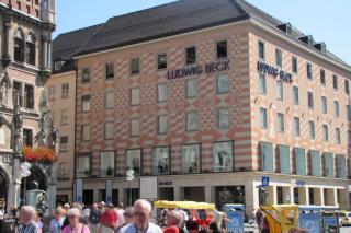 Bild: Ludwig Beck am Rathaus-Eck