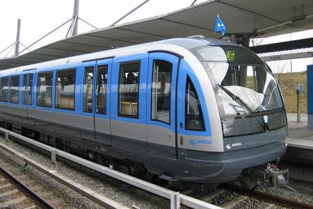 Ein neues Modell der Münchner U-Bahn