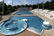 Bild: Dantebad, Schwimmbecken