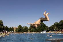 Bild: Schyrenbad, Schwimmbecken