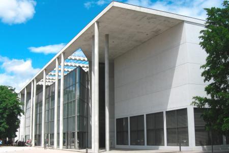 Architekturmuseum in der Pinakothek der Moderne