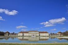Bild: Die Gartenfassade des Neuen Schlosses