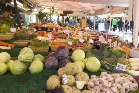 Obst, Gemüse und alles für das Genießerherz