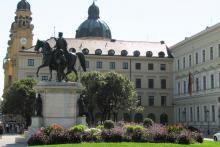 Picture: The Odeonsplatz