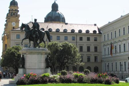The Odeonsplatz