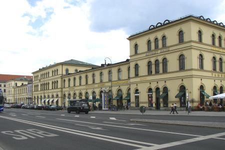 The Bazaar-Building at  Ludwigstraße