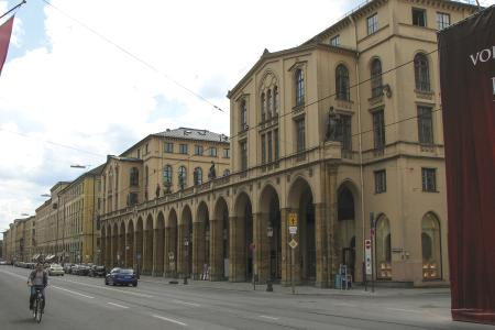 The heritage-protected Thurn & Taxis building