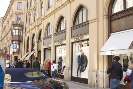The number one shopping street in Munich