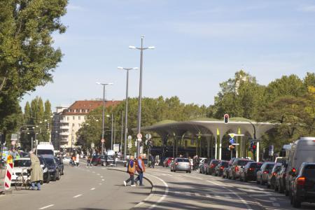 The Münchner Freiheit (Freedom of Munich)