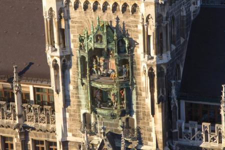 The Glockenspiel plays everyday at 11am, 12pm and 5pm (summer)