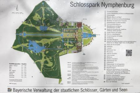 Map of the castle grounds