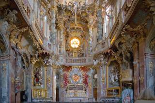 Bild: Asamkirche von innen