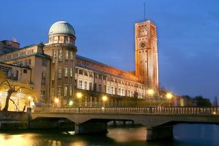 Picture: The German museum at night