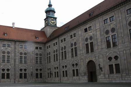 Inside the Kaiserhof of the Residenz