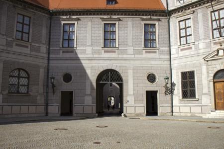 Inside the Brunnenhof
