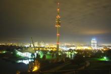 Bild: Rockmusem München auf dem Olympiaturm