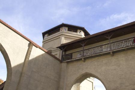 Das Museum befindet sich in einem Turm des Isartors