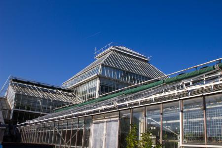 Gewächshaus im Botanischen Garten