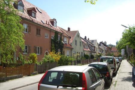 Weißkopfstraße in Munich Ramersdorf