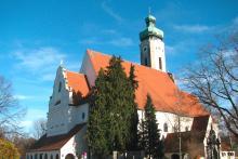 Bild: Pfarrkirche St. Johann Baptist Solln