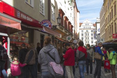 Der FC-Bayern Fanshop