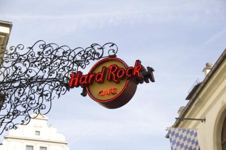 Das Hard Rock Café in München ist am Platzl