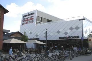 Bild: Die Pasing-Arcaden vor der Eröffnung