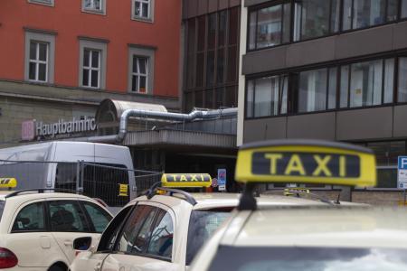 Plenty of taxis