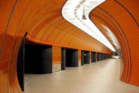 Subway station Marienplatz