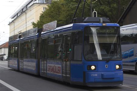 A Tram Train - the german cable cars ;o)