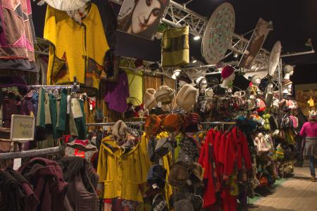 Bags, hats and nice textiles