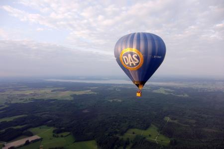 Der Ballon vom Ballonteam Auerberg am Ammersee