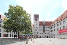 Picture: Munich´s Kaiserburg in the Alte Hof (Old Court)