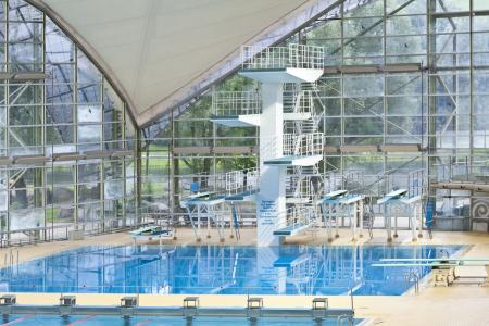 Olympiabad, Sprungturm