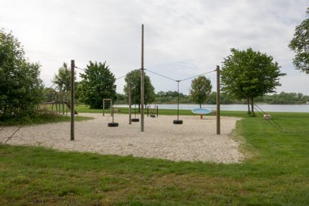 Court for Beachvolleyball