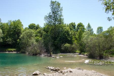 The lake at Allacher Forstweg