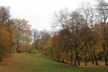 Picture: Maximilian Park, Mariannen-Bridge and the Maximilianeum